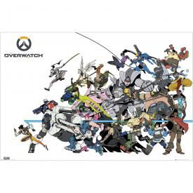 Poster OVERWATCH - Battle