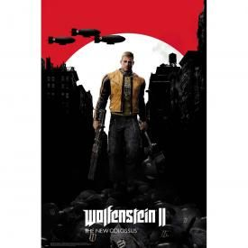 Poster WOLFENSTEIN - II The New Colossus