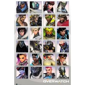 Poster OVERWATCH - Portraits