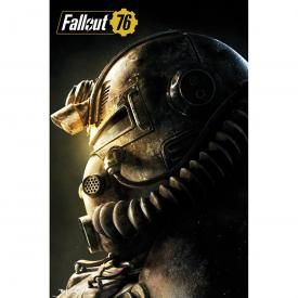 Poster FALLOUT 76 - T-51b