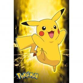 Poster NINTENDO - Pokémon Pikachu Néon
