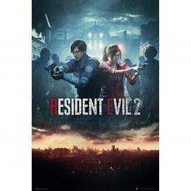 Poster RESIDENT EVIL 2 - City