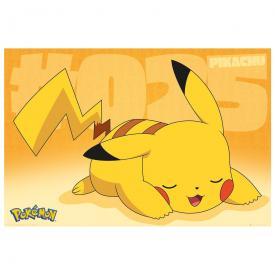 Poster NINTENDO - Pokémon Pikachu Asleep
