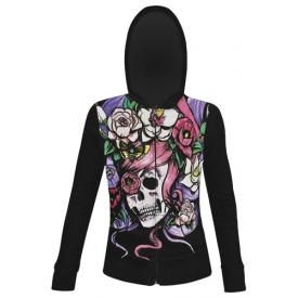 Sweat Zippé Nana IRON FIST - Dead Crazy