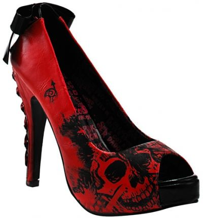 chaussures iron fist nightmare platform chaussures diverses rock a gogo. Black Bedroom Furniture Sets. Home Design Ideas