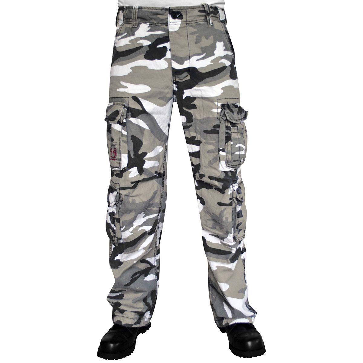 assez bon marché Prix usine 2019 comment avoir Pantalon Homme SURPLUS - Cargo Airborne Urban Camo - Rock A Gogo