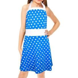 Robe Enfant T-BAR - Spots White