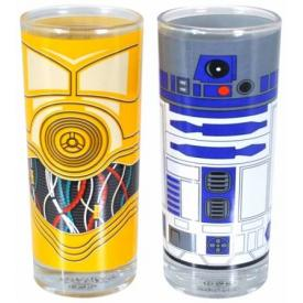 Set de 2 Verres STAR WARS - R2-D2 And C-3PO