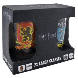 Set de 2 Verres HARRY POTTER - Crests