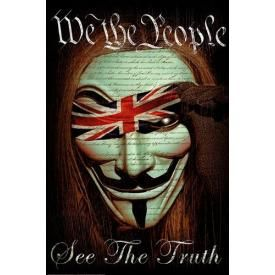 Poster DAVEED BENITO - We The People Anonymous