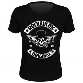 Tee Shirt Femme ROCKABLOK - MC