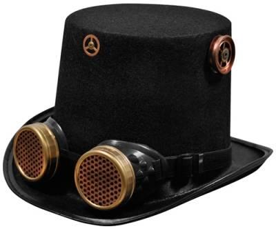 chapeau haut de forme steampunk chapeaux rock a gogo. Black Bedroom Furniture Sets. Home Design Ideas