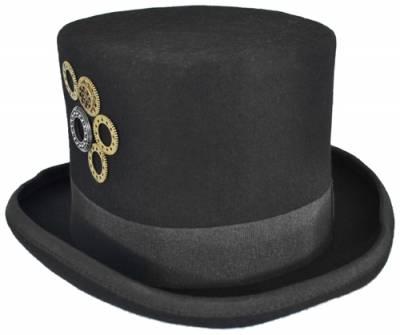 sale online to buy online retailer Chapeau HAUT DE FORME - Steampunk Engrenages - Rock A Gogo