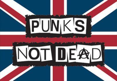Image de Drapeau PUNK'S NOT DEAD - England