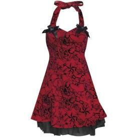 Robe H&R - Velours Red