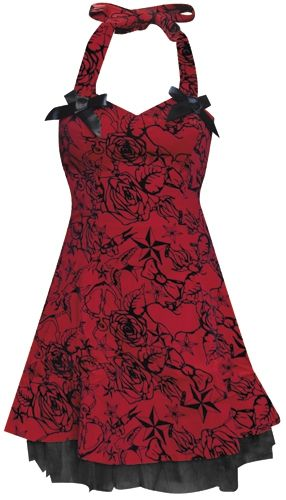 Image de Robe H&R - Velours Red