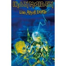 Drapeau Deluxe IRON MAIDEN - Live After Death