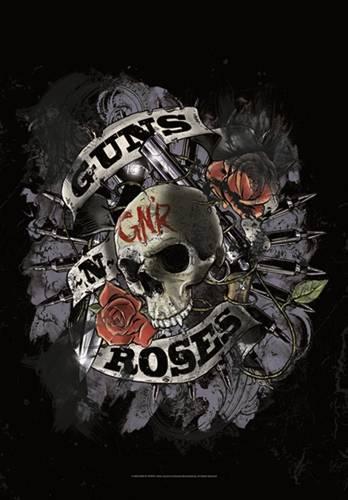 Image de Drapeau GUNS N ROSES - Skull