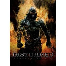 Drapeau DISTURBED - Indestructible