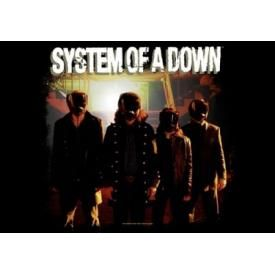 Drapeau SYSTEM OF A DOWN - Band