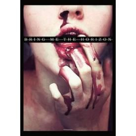 Drapeau BRING ME THE HORIZON - Bloody Mouth