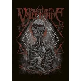 Drapeau BULLET FOR MY VALENTINE - Skeleton