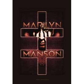 Drapeau MARILYN MANSON - Cross