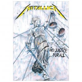Drapeau METALLICA - And Justice For All