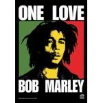 Drapeau BOB MARLEY - One Love
