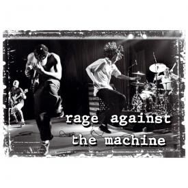 Drapeau RAGE AGAINST THE MACHINE - Stage