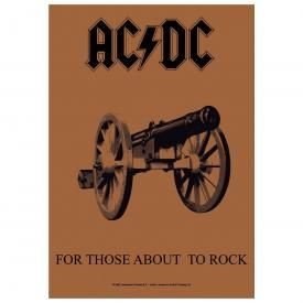 Drapeau AC/DC - For Those About To Rock