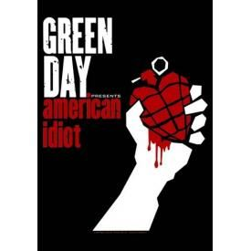 Drapeau GREEN DAY - American Idiot