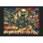 Drapeau AVENGED SEVENFOLD - Confederate Flag