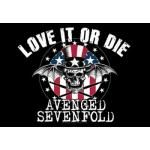 Drapeau AVENGED SEVENFOLD - Love It Or Die