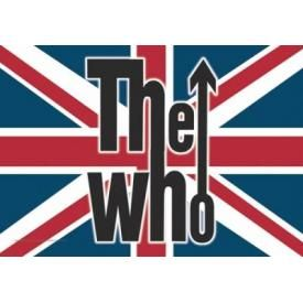 Drapeau THE WHO - Union Jack