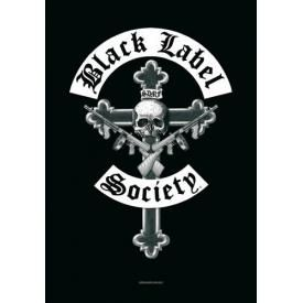 Drapeau BLACK LABEL SOCIETY - Cross