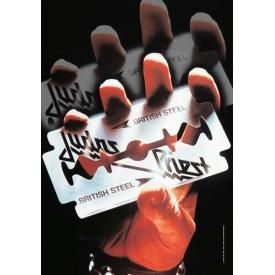 Drapeau JUDAS PRIEST - British Steel Razor