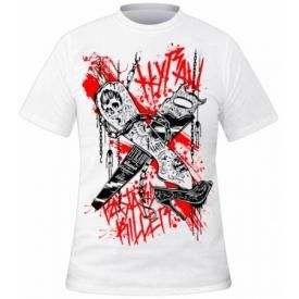T-Shirt Mec HYRAW - Bastard Killer