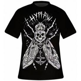 T-Shirt Mec HYRAW - Black Fly