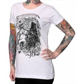 Tee Shirt Femme HYRAW - Grim Reaper