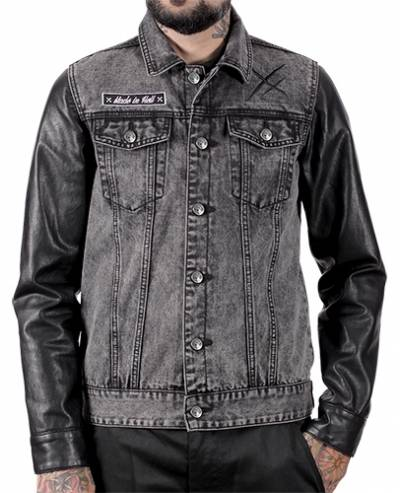 Veste Homme HYRAW Made In Hell Jeans Rock A Gogo