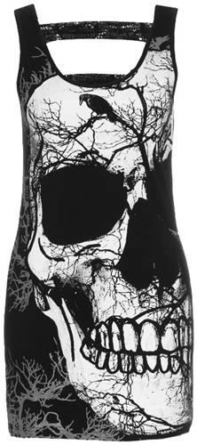 tunique jawbreaker forest skull tuniques rock a gogo. Black Bedroom Furniture Sets. Home Design Ideas