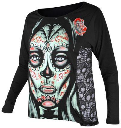 tee shirt femme jawbreaker mex skull woman en solde. Black Bedroom Furniture Sets. Home Design Ideas