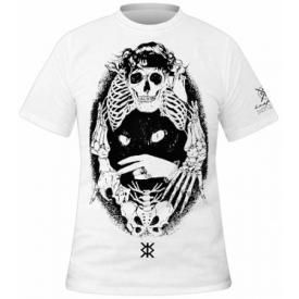 T-Shirt Mec KRAFT BKK - Skull & Cat