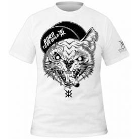 T-Shirt Mec KRAFT BKK - Edgy Cat