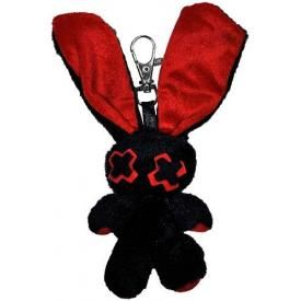 Porte Clefs Peluche EVIL CLOTHING - Lapin Baby Minxy Red
