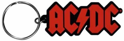Image de Porte Clefs AC/DC - Rubber Logo