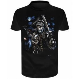 T-Shirt Enfant DARK WEAR - Captain Skull Glow