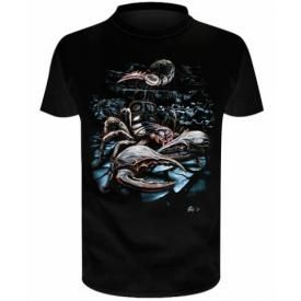 T-Shirt Enfant DARK WEAR - Scorpion God Glow