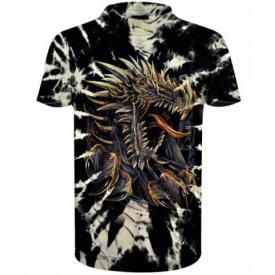 T-Shirt Enfant DARK WEAR - Dragon Ripp Tie & Dye